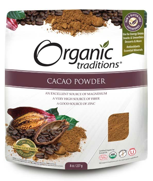 Food & Drink - Organic Traditions - Cacao Powder - 227g