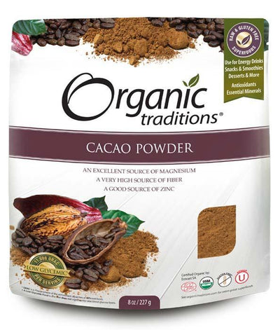 Food & Drink - Organic Traditions - Cacao Powder, 454g