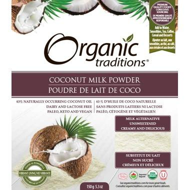 Food & Drink - Organic Traditions - Coconut Milk Powder, 150g