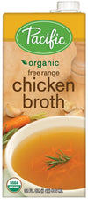 Food & Drink - Pacific - Organic Free Range Chicken Broth, 946ml