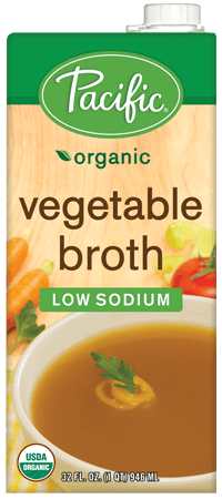 Food & Drink - Pacific - Organic Low Sodium Vegetable Broth, 1L
