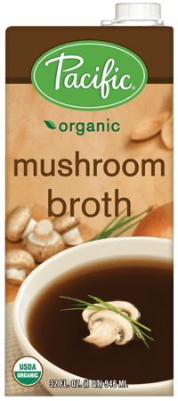 Food & Drink - Pacific - Organic Mushroom Broth, 1L