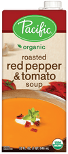 Food & Drink - Pacific - Organic Roasted Red Pepper & Tomato Soup, 1L