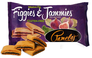 Food & Drink - Pamela's Products - Figgies & Jammies - Fig, 255g