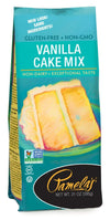 Food & Drink - Pamela's Products - Vanilla Cake Mix, 595g