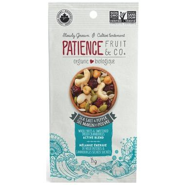 Food & Drink - Patience Fruit & Co. - Active Blend - Sea Salt & Pepper, 35g