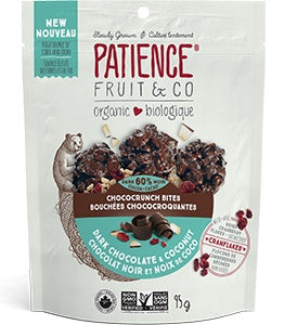 Food & Drink - Patience Fruit & Co - Dark Chocolate & Coconut Bites, 95g
