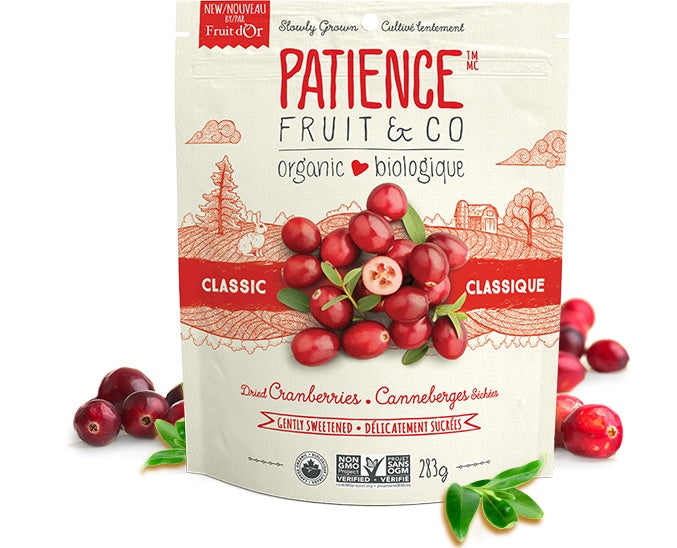 Food & Drink - Patience Fruit & Co - Dried Cranberries, 283g