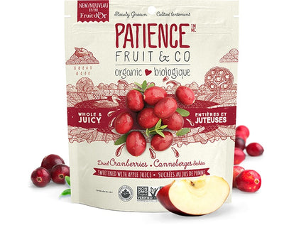 Food & Drink - Patience Fruit & Co - Dried Cranberries With Apple Juice, 227g