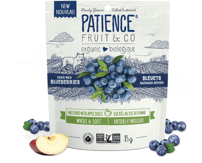 Food & Drink - Patience Fruit & Co. - Organic Whole And Soft Blueberries, 85g