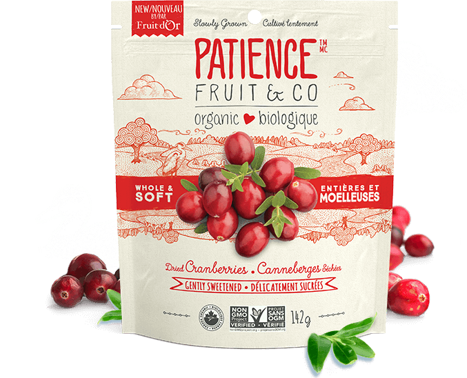 Food & Drink - Patience Fruit & Co - Whole & Soft Cranberries, 142g
