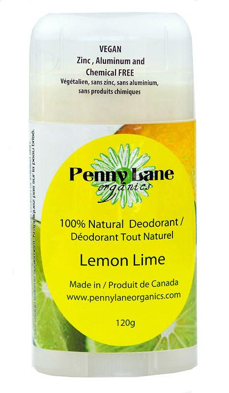 Food & Drink - Penny Lane Organics - Lemon Lime Deodorant, 120g