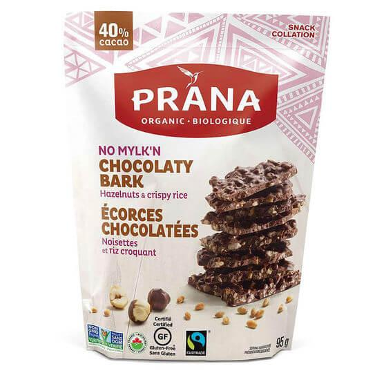 Food & Drink - Prana - No Mylk'n Chocolaty Bark With Hazelnut, 95g