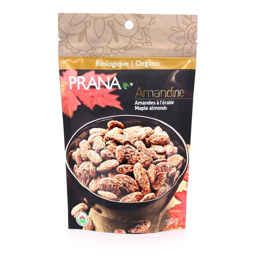 Food & Drink - Prana - Organic Amandine Maple Syrup Almond, 150g