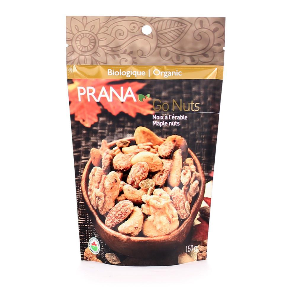 Food & Drink - Prana - Organic Go Nuts Maple Syrup Nuts, 150g