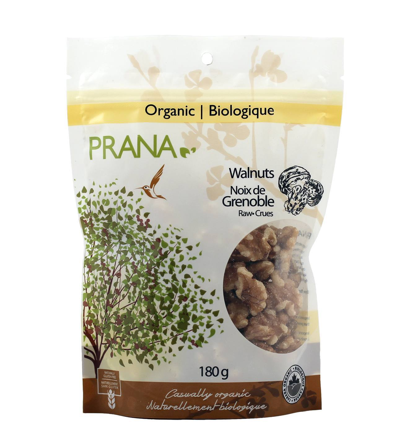 Food & Drink - Prana - Walnuts, 180g