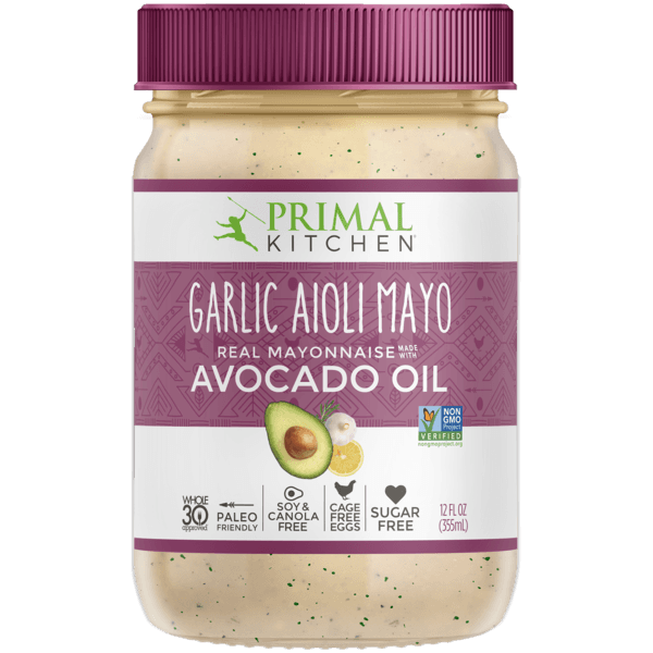 Food & Drink - Primal Kitchen - Garlic Aioli Mayo, 354mL