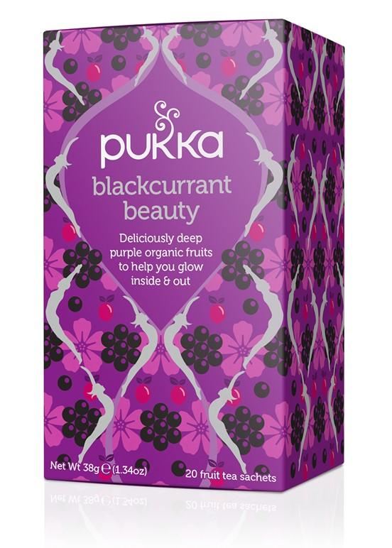 Food & Drink - Pukka - Blackcurrant Beauty, 20 Tea Bags