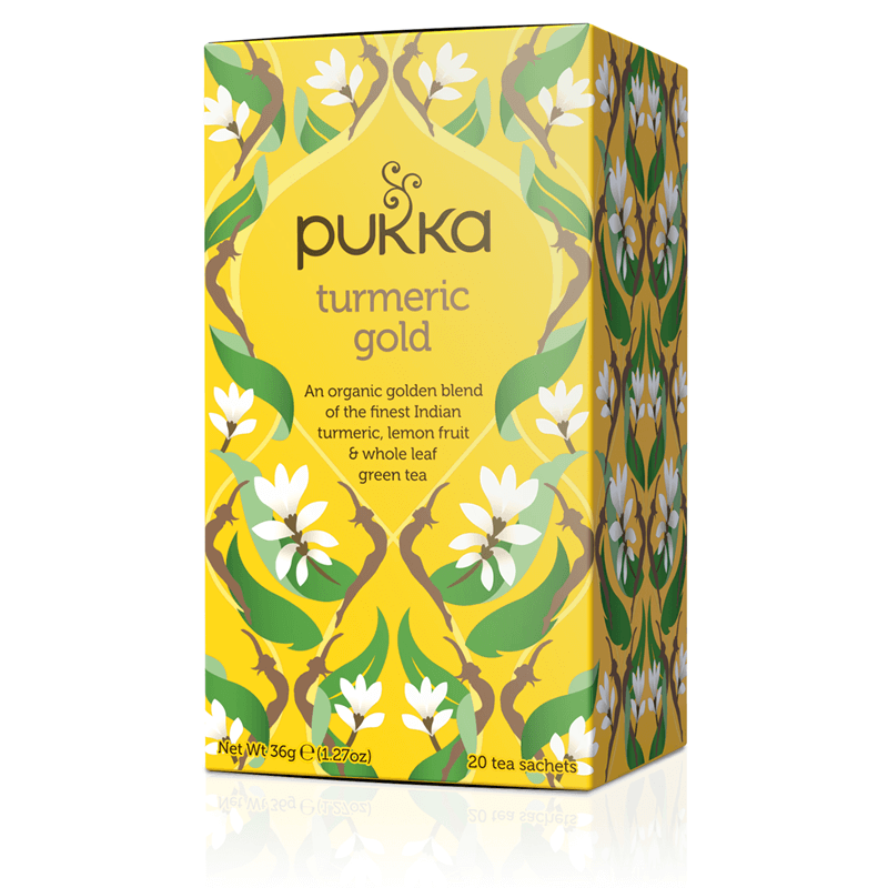Food & Drink - Pukka - Turmeric Gold Tea, 20 Tea Bags