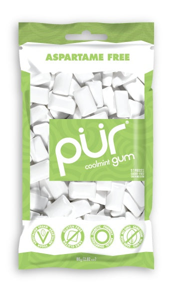Food & Drink - Pur Gum - Cool Mint Gum, 80g