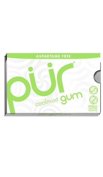 Food & Drink - Pur Gum - Cool Mint Gum, 9 Pcs