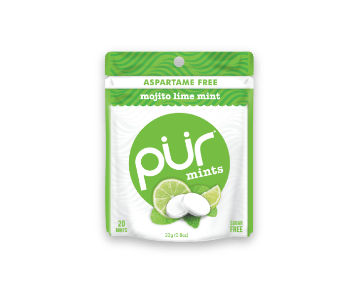 Food & Drink - Pur Gum - Mojito Lime Mints, 22g