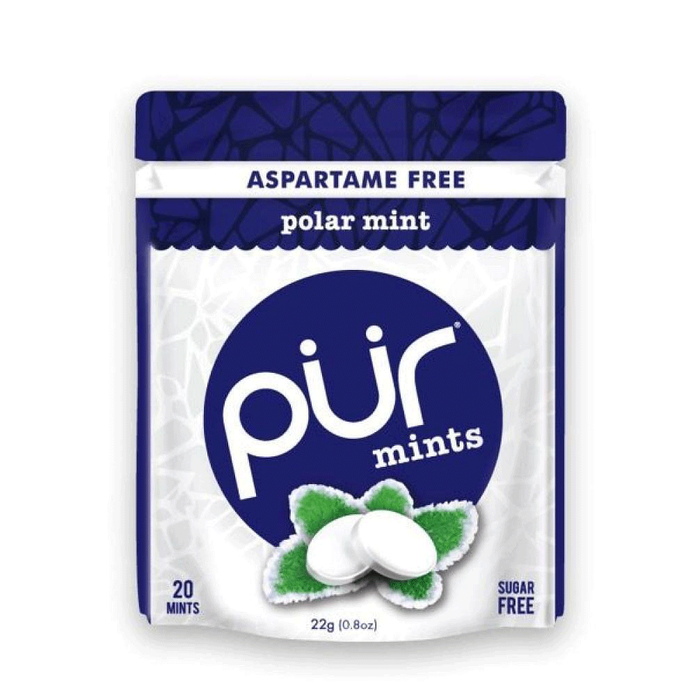 Food & Drink - Pur Gum - Polar Mints, 22g