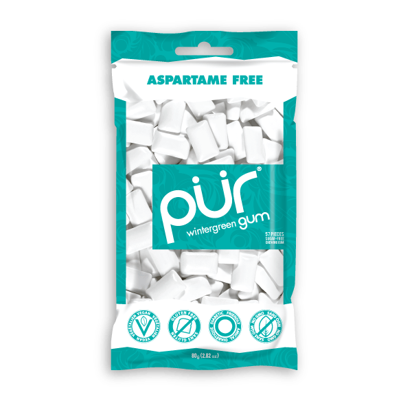 Food & Drink - Pur Gum - Wintergreen Gum, 80g