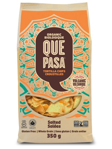 Food & Drink - Que Pasa - Tortilla Chips, Low Salt, 350g