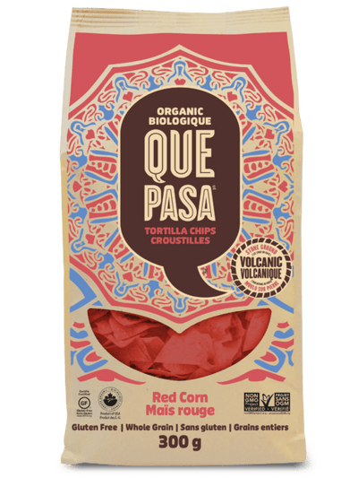 Food & Drink - Que Pasa - Tortilla Chips, Red Corn, 300g