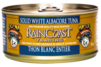 Food & Drink - Raincoast Trading - Solid White Albacore Tuna, 150g