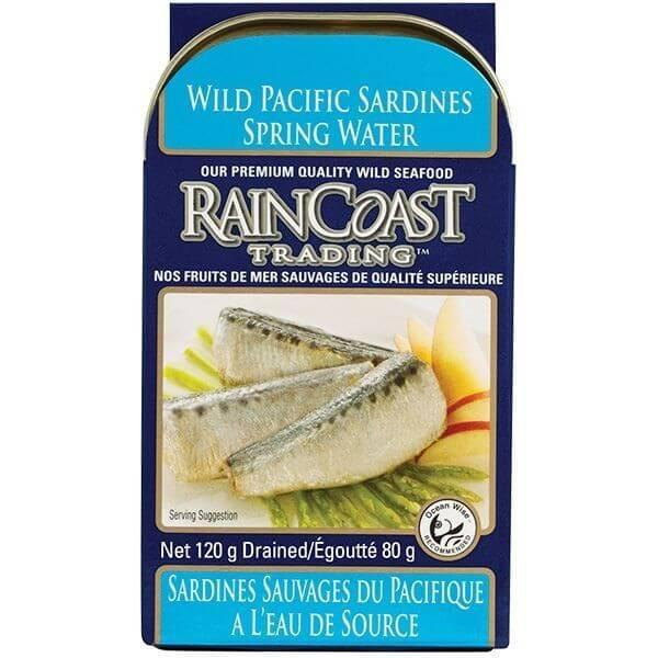 Food & Drink - Raincoast Trading - Wild Pacific Sardines In Water, 120g
