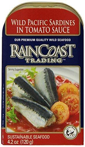 Food & Drink - Raincoast Trading - Wild Pacific Sardines Tomato, 120g