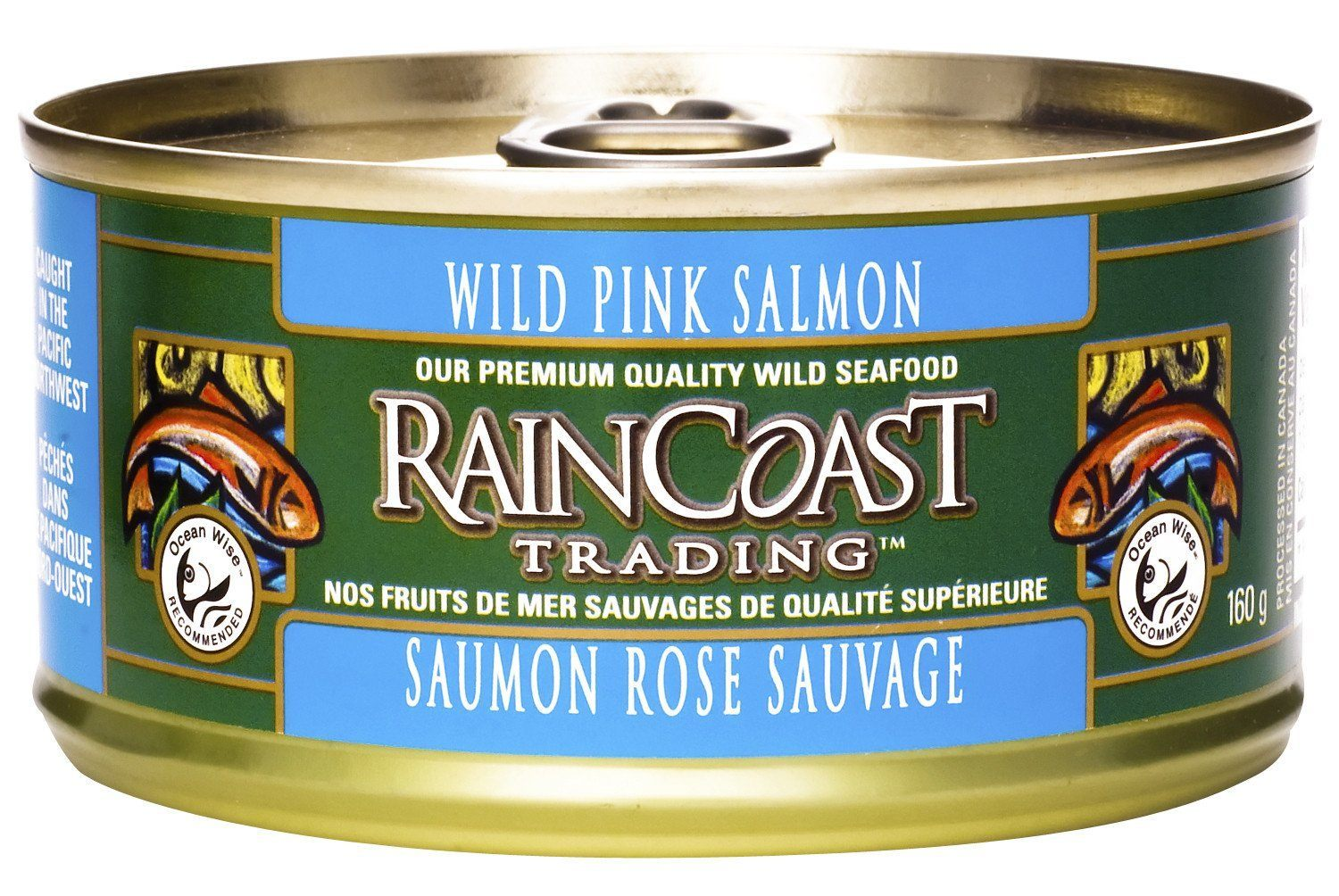 Food & Drink - Raincoast Trading - Wild Pink Salmon, 160g