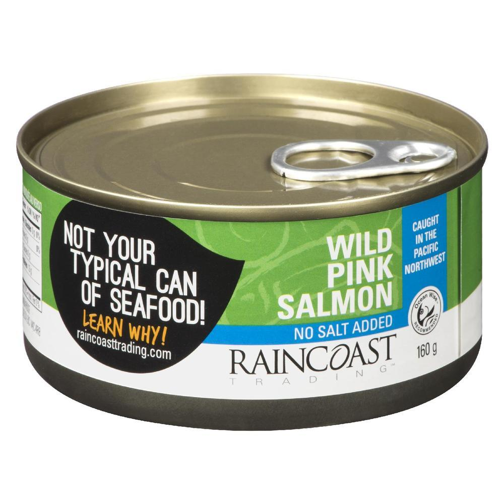 Food & Drink - Raincoast Trading Wild Pink Salmon No Salt - 160g