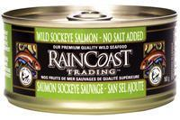 Food & Drink - Raincoast Trading - Wild Sockeye Salmon No Salt, 160g
