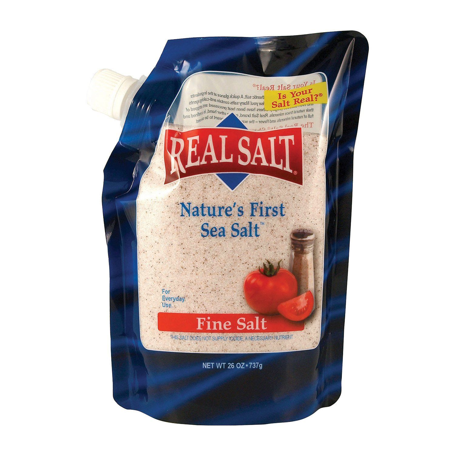 Food & Drink - Redmond Trading Co. - Real Salt Granular, 737g