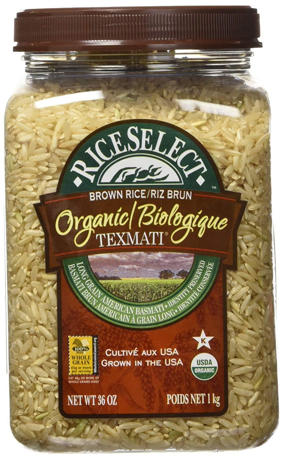 Food & Drink - Rice Select Organic Brown Rice 1kg