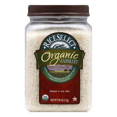 Food & Drink - Rice Select Organic Jasmati Rice 1kg