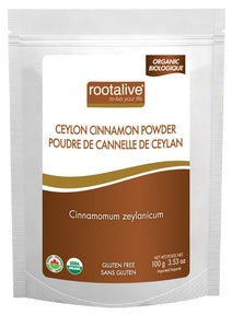 Food & Drink - Rootalive Organic Cinnamon Powder 100g