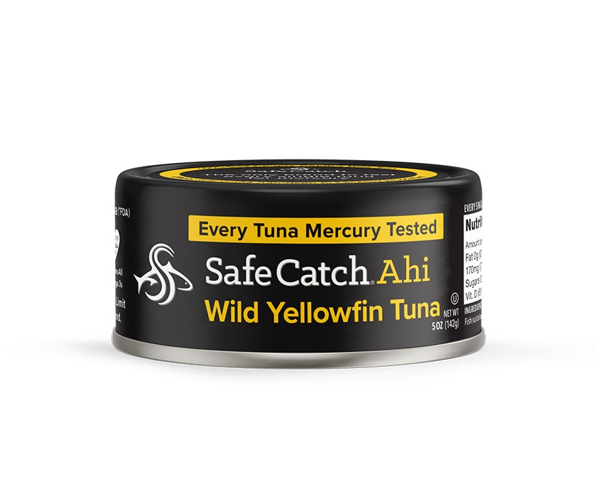 Food & Drink - Safe Catch - Ahi Wild Yellowfin Tuna, 142g