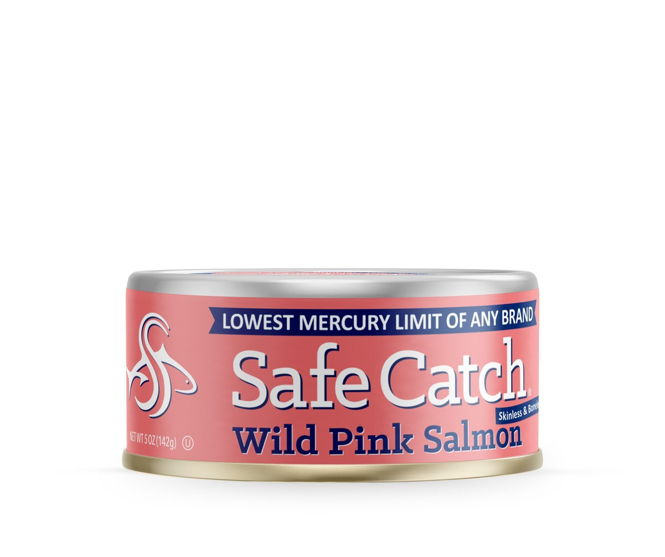 Food & Drink - Safe Catch - Alaskan Wild Pink Salmon, 142g