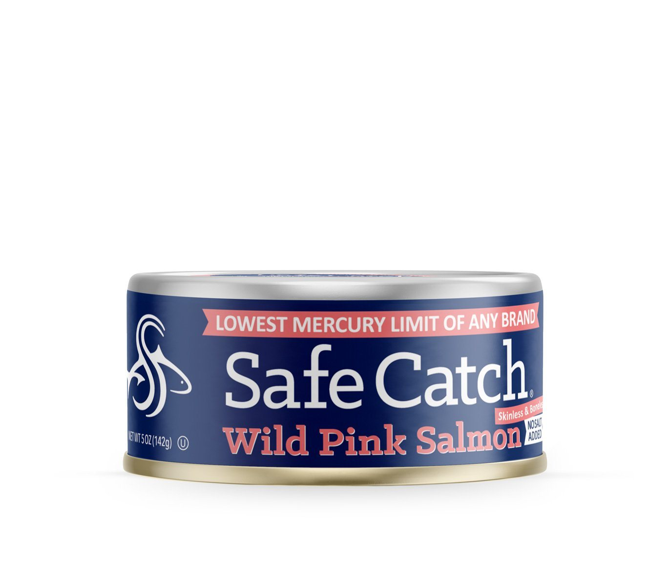 Food & Drink - Safe Catch - Alaskan Wild Pink Salmon (no Salt Added), 142g