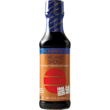 Food & Drink - San-J Organic Shoyu Soy Sauce - 296ml