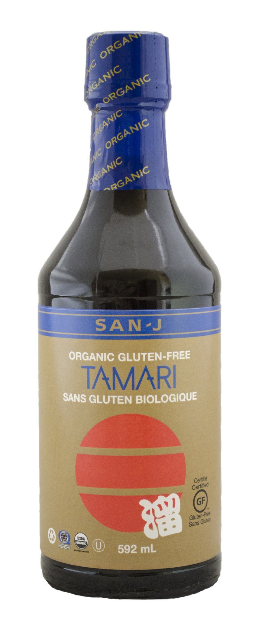Food & Drink - San-J - Organic Tamari Soy Sauce, 592ml