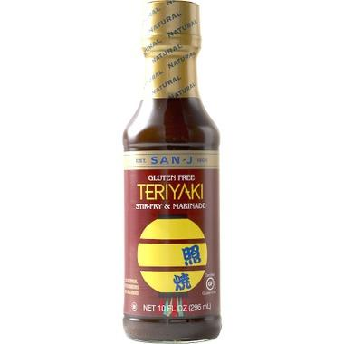 Food & Drink - San-J Teriyaki Sauce 296ml