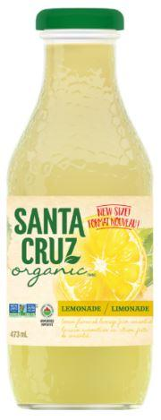 Food & Drink - Santa Cruz Organic - Organic Lemonade, 473ml
