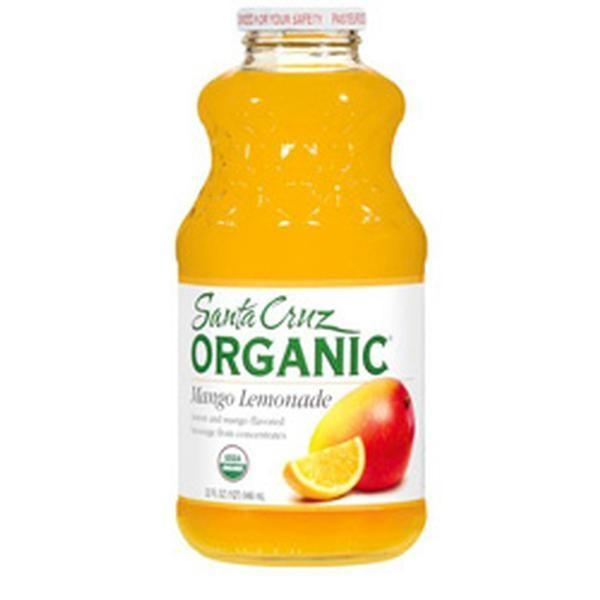Santa Cruz Organic - Organic Mango Lemonade, 946ml