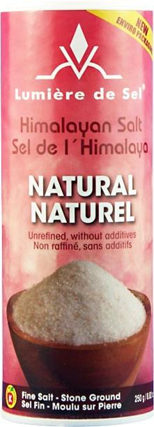 Food & Drink > Seasonings & Spices > Salt - Lumiere De Sel - Natural Himalayan Salt - 250g