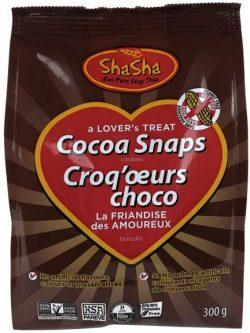 Food & Drink - ShaSha Bread Co. - Cocoa Snaps, 300g